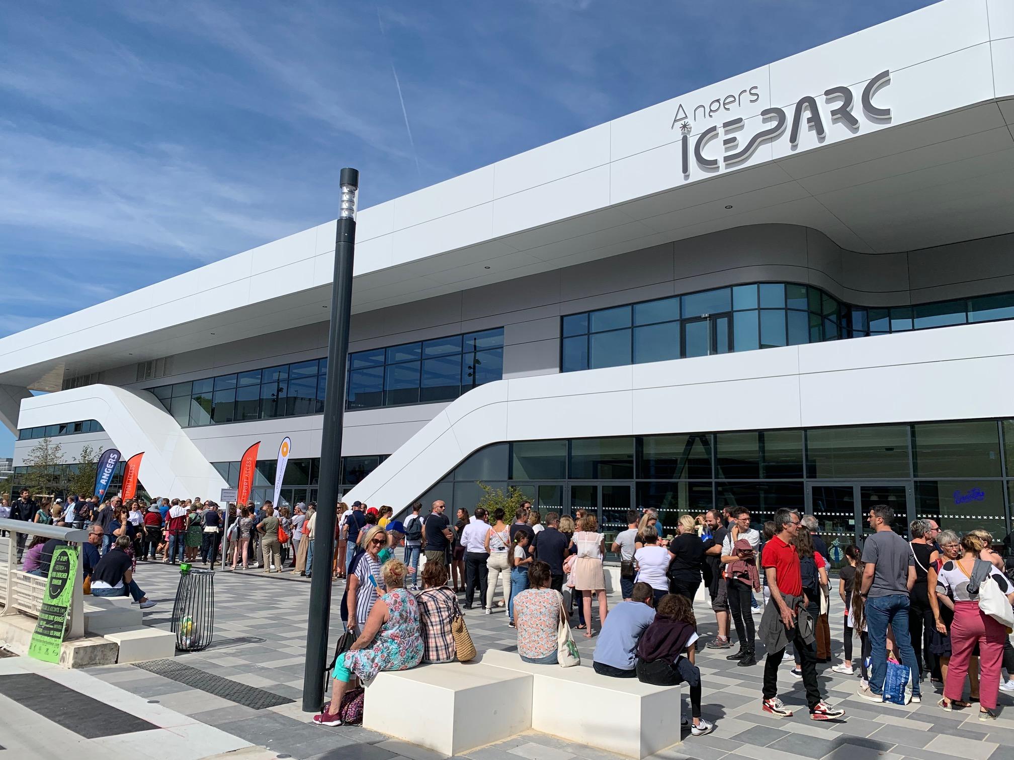 L'ICEPARC d'Angers, un bel outil pour le hockey.