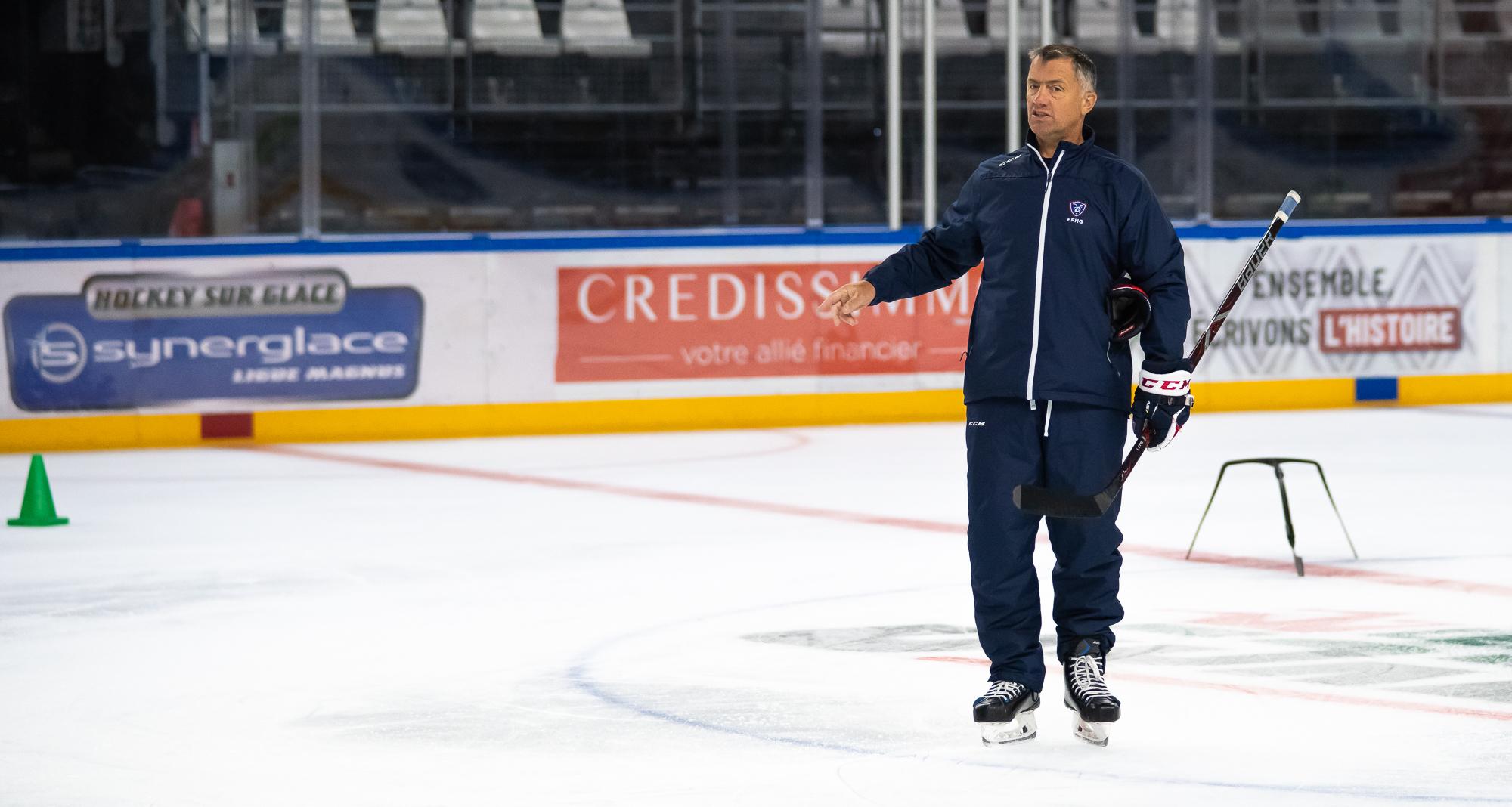 EDF – Overtime avec Philippe Bozon, coach de l'équipe de France.