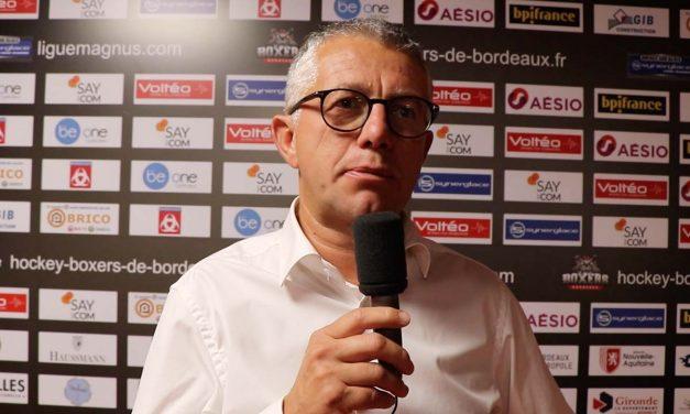 Olivier Dimet : 'Le travail a payé et nous avons été en réussite depuis le début de la saison'